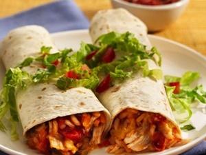 Burritos Mexicanos De Pollo Como Hacer La Receta Fácil