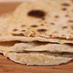 Masa para burritos: tortillas de trigo