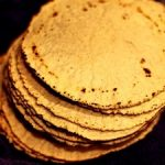 Tortillas de maiz para burritos